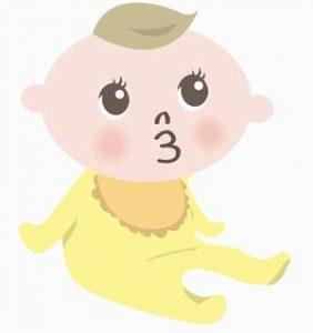 赤ちゃんの頭囲の平均は?
